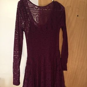 Purple Free People Dress